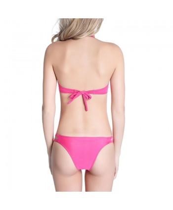 Push Up Halter Bikini Set