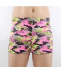 Plus Size Camouflage Print Swim Trunks