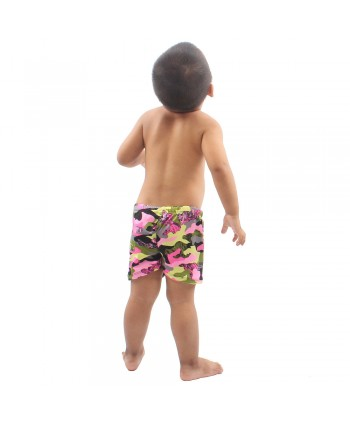 Little Boys Camouflage Swim Trunks
