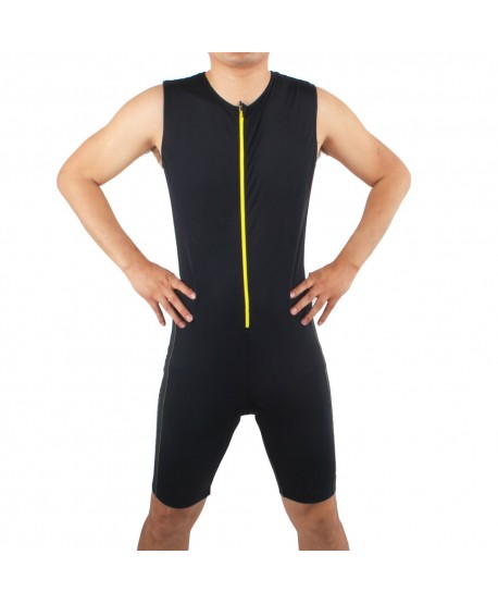 Mens Padded Sleeveless Trisuit