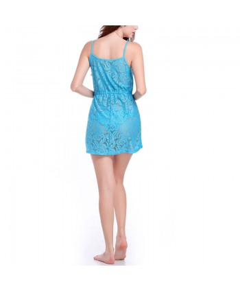 Lace Cover Up Slip Dress