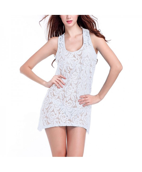 Lace Tank Cover Up Dress