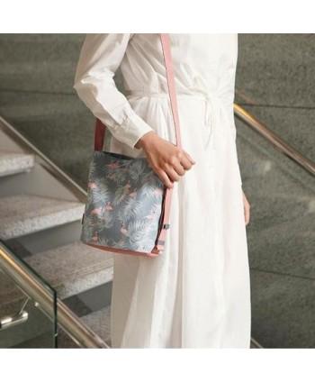 Floral Print Waterproof Crossbody Bag