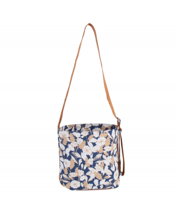 Floral Print Waterproof Crossbody Bag