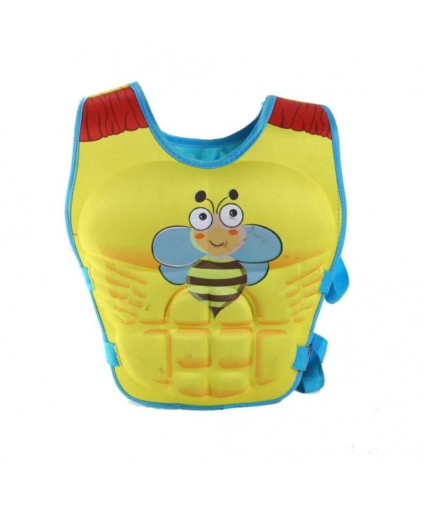 Bees Graphic Kids Swim Vest Swimming Training