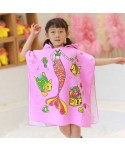 Girls Mermaid Beach Hooded Poncho Towel