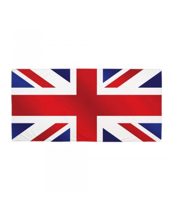 UK Flag Patriotic Bath Towel