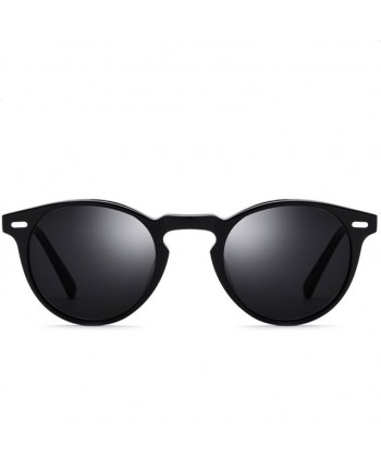 Mens Vintage Round Polarized Sunglasses