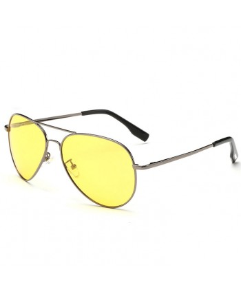 Unisex Pilot Mirror Polarized Sunglasses