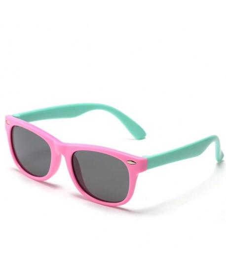 Boys Girls Soft Silicone Polarized Sunglasses