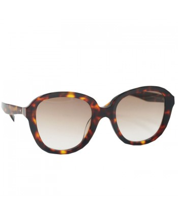 Womens Square Polarized Tortoise  Sunglasses