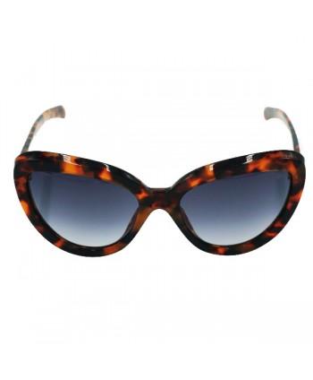 Unisex Cat Eye Polarized Tortoise Sunglasses