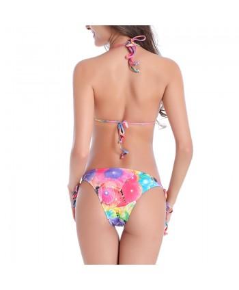 Plus Size Floral Bikini Set