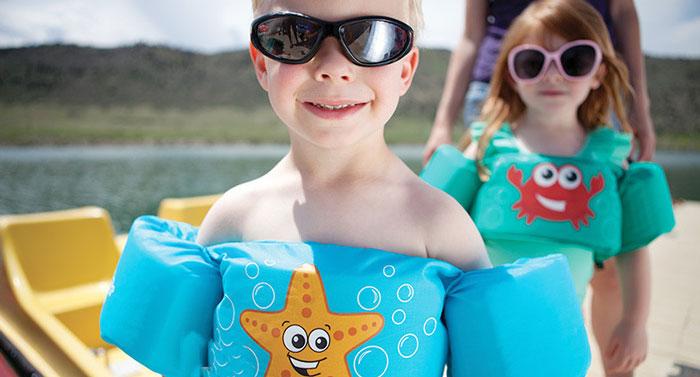 cute cartoon swim vest
