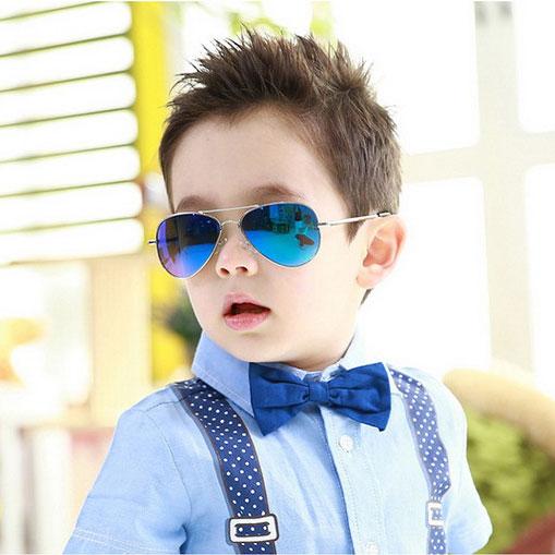 Kids Aviator Mirror Polarized Sunglasses