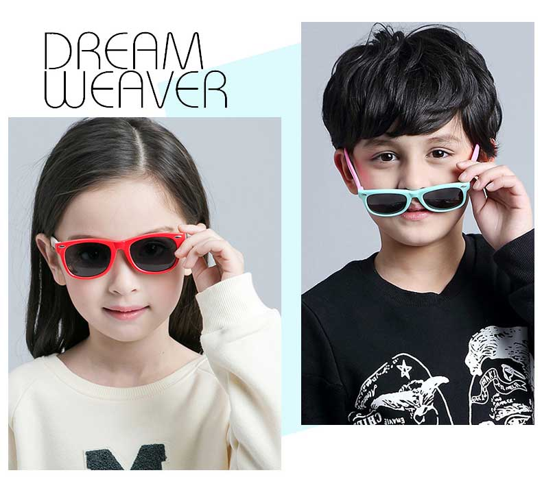 Kids Silicone Polarized Sunglasses