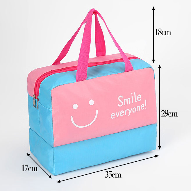 waterproof beach bag size